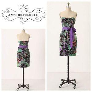 Anthropology- Edme & Esyllte Floral Dress